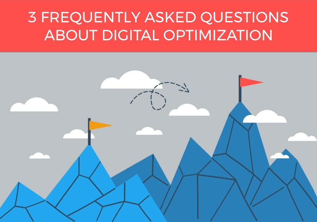 Frequently asked questions about digital optimization.001-1
